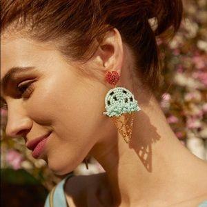 NWT Baublebar Ice Cream Earrings